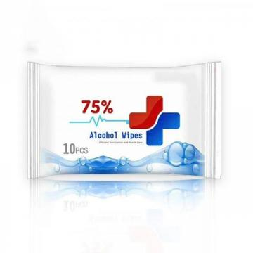 75% Alcohol Antimicrobial Antiseptic Wet Wipes Private Label Disinfectant Wipes