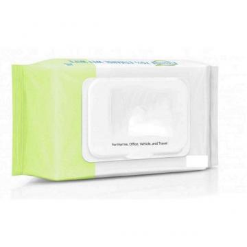 Adults Use OEM Isopropyl alcohol wipes 180*140MM single pack wet wipes from factory