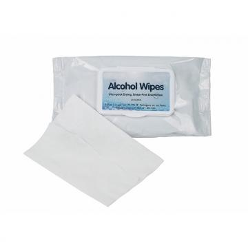 Non woven cheap price medical 75% alcohol pad wet wipes