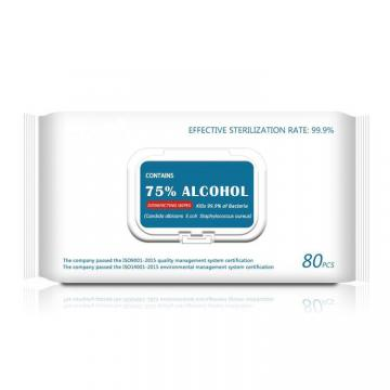 Disposable Antiseptic Cleansing Wipe Alcohol 70% Prep Pad Wipes for Disinfection Use