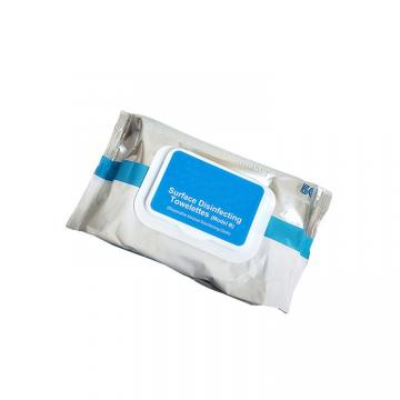 60 barreled wet wipes 75 degree alcohol English version disinfection wipes portable wipes