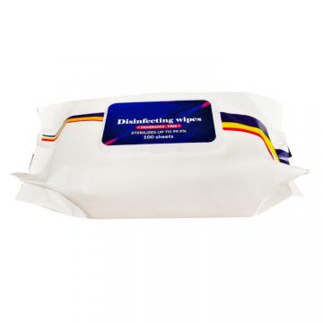 Custom Hand Cleaning Organic Wipes with Alcohol-Free Baby Wet Wipes