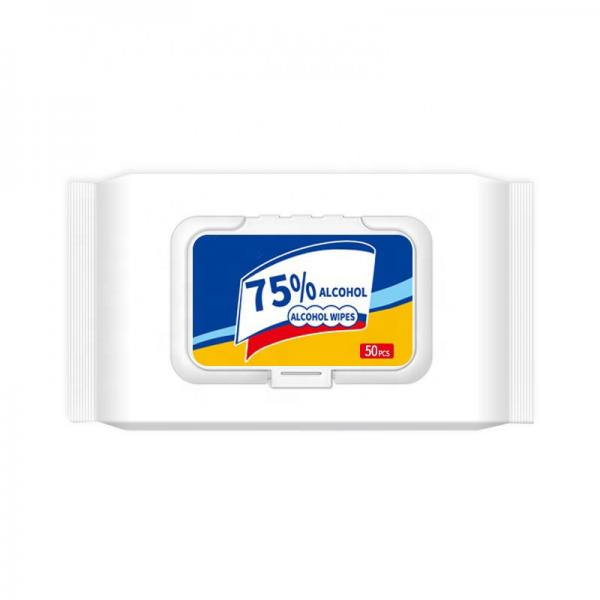 Custom made multifunction alcohol wet wipes and disinfectant wipes #3 image