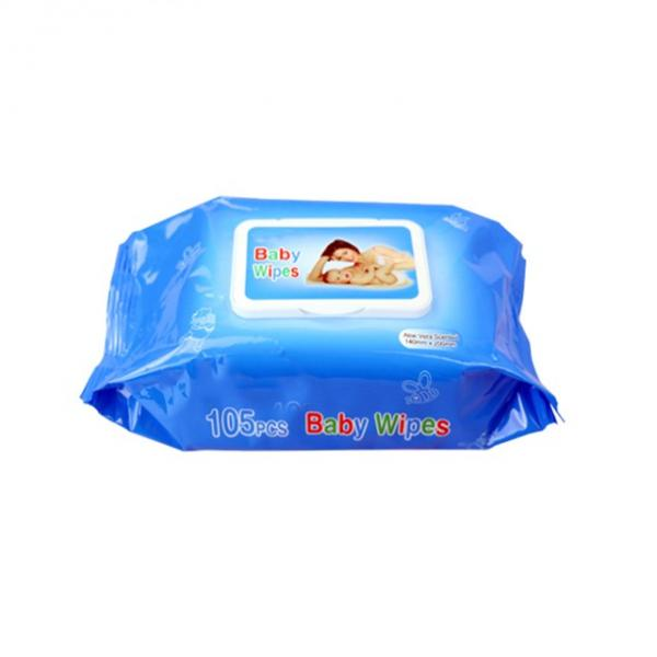 Hot Selling Oem Wipes Alcohol Free , Factory Made Baby Wipes China #3 image