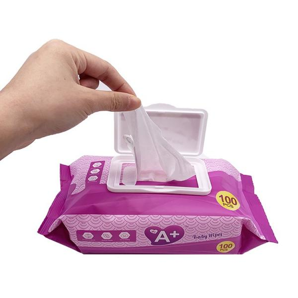 Custom Individually Packaged Flushable wet Wipes 35 gsm/s.q.m #2 image