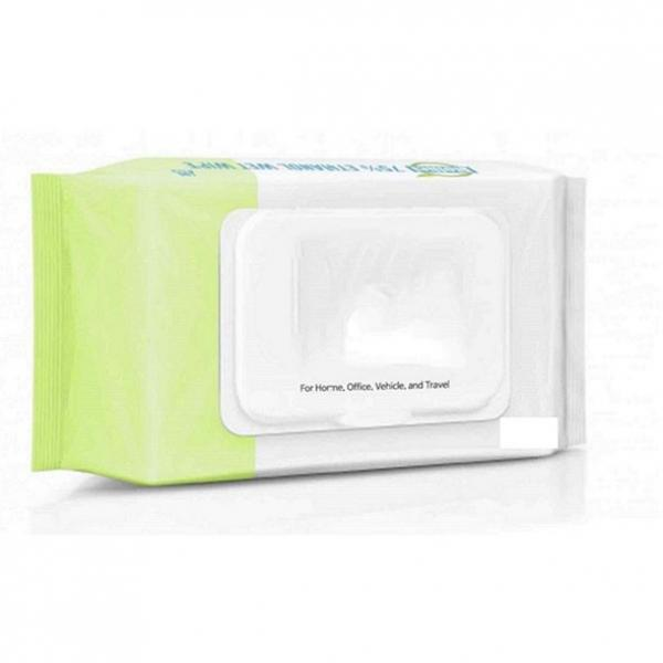 Wholesale Customized Personalized Single Pack Cleaning Wet Wipe #1 image