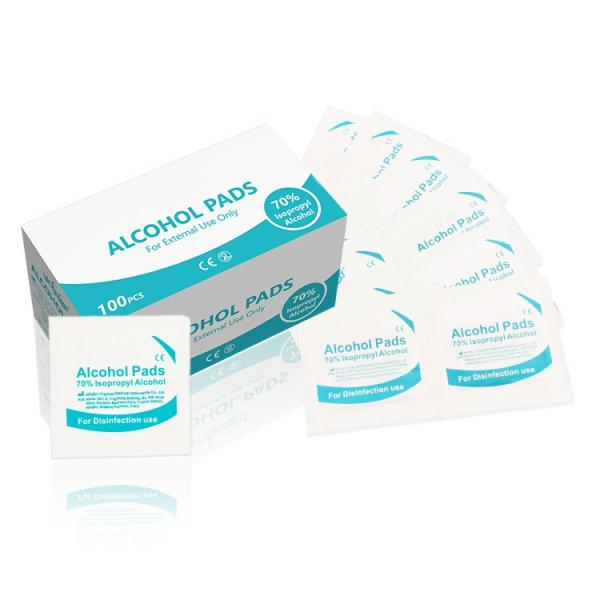 Alcohol Pads and Alcohol Prep with 70 Isopropyl Alcohol First Aid Kit 70% Isopropyl Cleaning Alcohol Pads #4 image