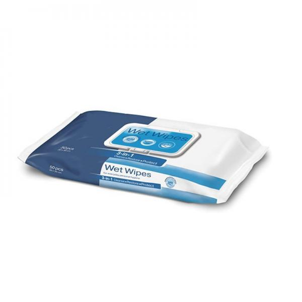 Sanitized Hand Alcohol Cleaning Wipes Wet Antibacterial Wholesale 75%Alcohol Sanitizer Wipes #1 image