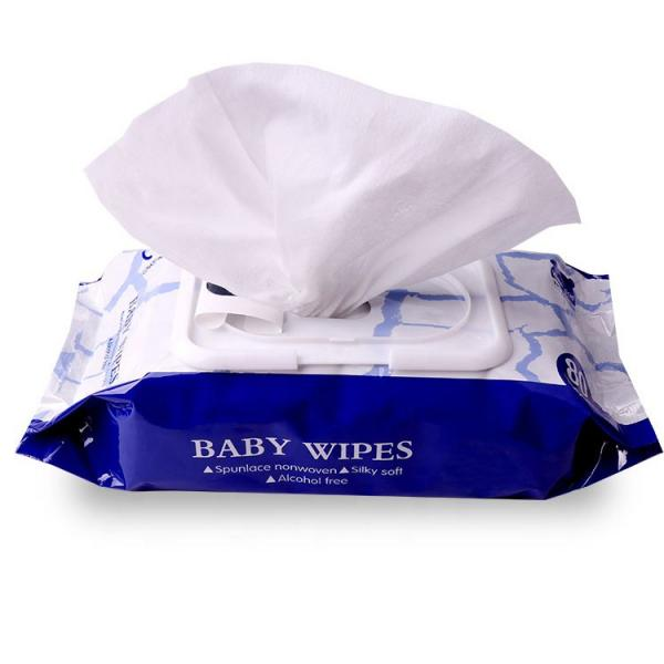 Alcohol wet wipes with private brand #3 image