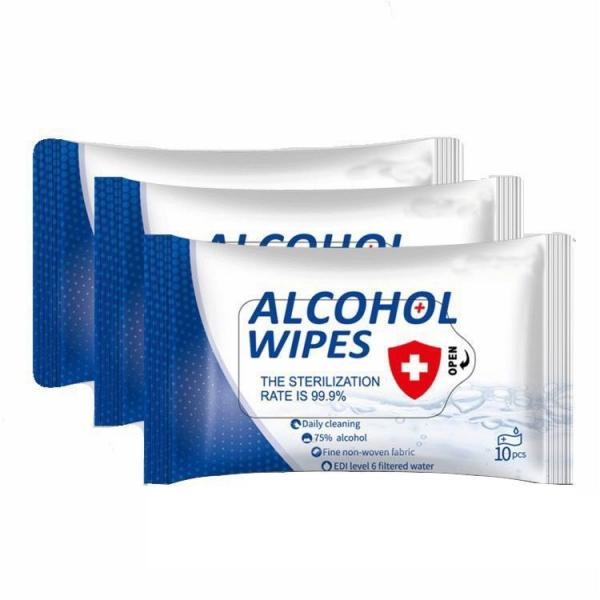 High Quality 50 Pieces 75% alcohol cleaning wipes #3 image