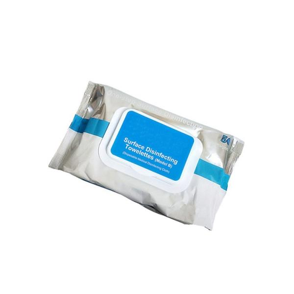 Alibaba select 75% Alcohol Wipes Disinfectant Wipes 300pcs in Canister for US/EU market #1 image