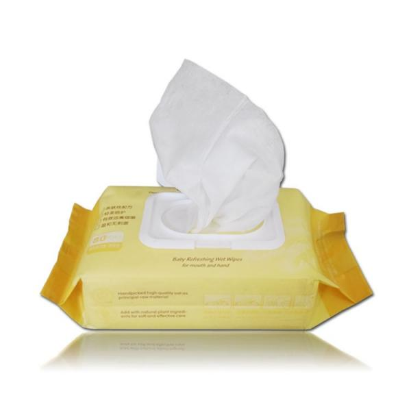 Custom Hand Cleaning Organic Wipes with Alcohol-Free Baby Wet Wipes #1 image