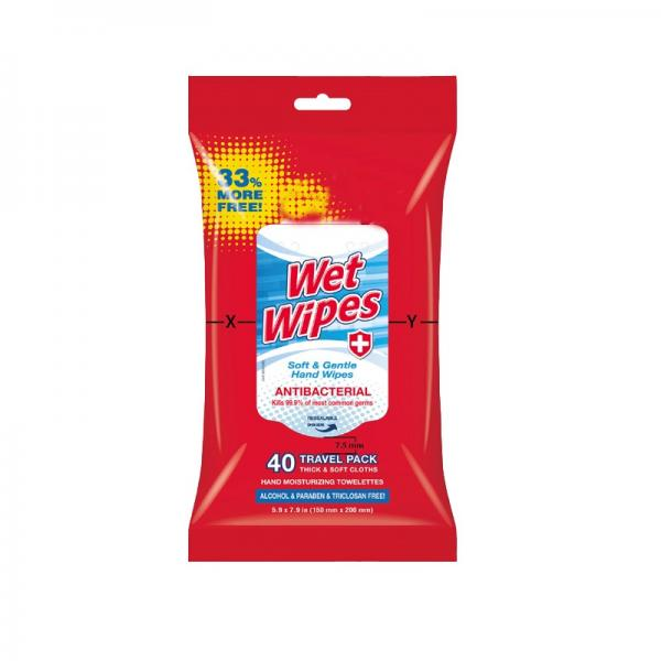 Pure Water Alcohol Free Unscented Wet Wipe #2 image