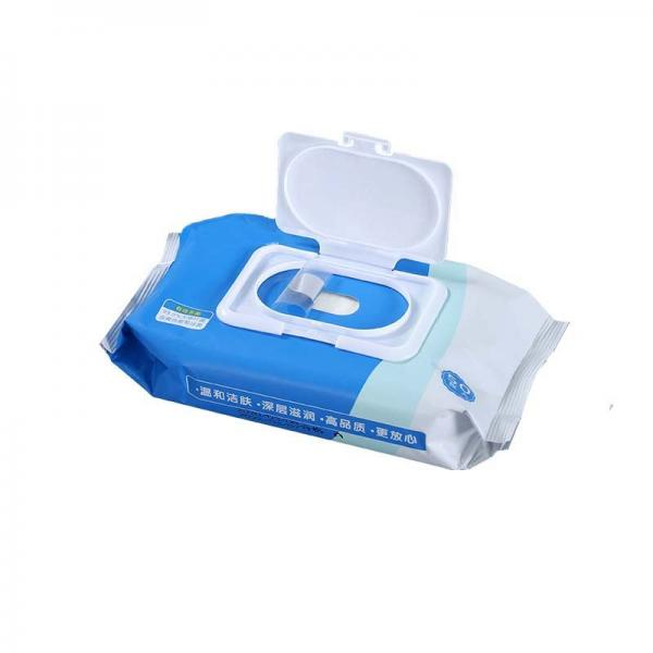 Comfortable Antiseptic Skin Friendly Mini Pure Water and Superior Quality Wet Wipes Antiseptic Disinfectant Wipes Alcohol Cleaning Wet Wipes #4 image