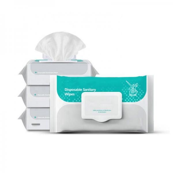 Alcohol Wipes 100 PCS Alcohol Wipes 99.9 Alcohol Wet Wipes Disinfectant Wet Wipes Add Alcohol #3 image