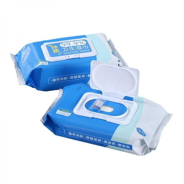 Top Protection Kill 99.9% Germs Anti Bacterial Wet Wipes Alcohol Wet Wipescleaning Wet Wipes #1 image